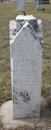 MCCARTY, MARY - Dixon County, Nebraska | MARY MCCARTY - Nebraska Gravestone Photos