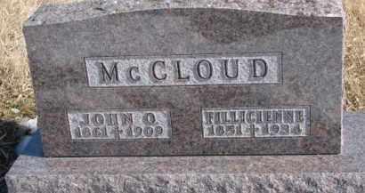 MCCLOUD, JOHN O. - Dixon County, Nebraska | JOHN O. MCCLOUD - Nebraska Gravestone Photos