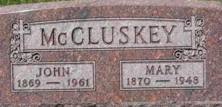 MCCLUSKEY, JOHN - Dixon County, Nebraska | JOHN MCCLUSKEY - Nebraska Gravestone Photos