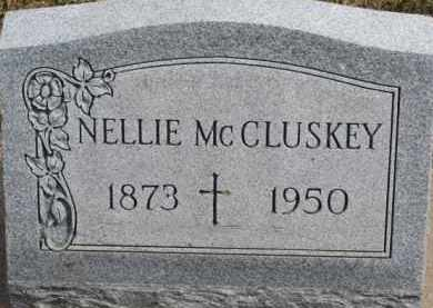 MCCLUSKEY, NELLIE - Dixon County, Nebraska | NELLIE MCCLUSKEY - Nebraska Gravestone Photos