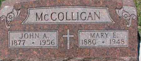 MCCOLLIGAN, JOHN A. - Dixon County, Nebraska | JOHN A. MCCOLLIGAN - Nebraska Gravestone Photos