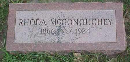 MCCONOUGHEY, RHODA - Dixon County, Nebraska   RHODA MCCONOUGHEY - Nebraska Gravestone Photos