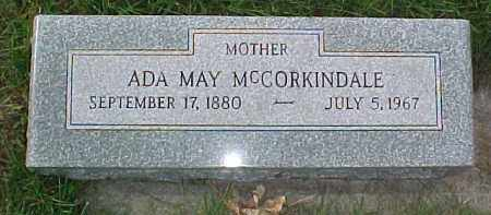 MCCORKINDALE, ADA MAY - Dixon County, Nebraska | ADA MAY MCCORKINDALE - Nebraska Gravestone Photos