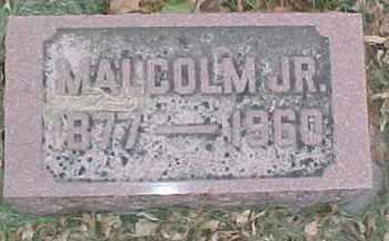 MCCORKINDALE, MALCOM JR. - Dixon County, Nebraska | MALCOM JR. MCCORKINDALE - Nebraska Gravestone Photos
