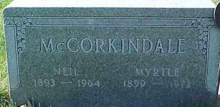 MCCORKINDALE, NEIL - Dixon County, Nebraska   NEIL MCCORKINDALE - Nebraska Gravestone Photos