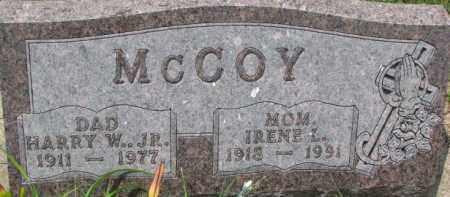 MCCOY, IRENE L. - Dixon County, Nebraska | IRENE L. MCCOY - Nebraska Gravestone Photos