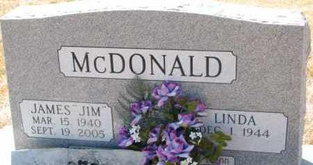 "MCDONALD, JAMES ""JIM"" - Dixon County, Nebraska | JAMES ""JIM"" MCDONALD - Nebraska Gravestone Photos"
