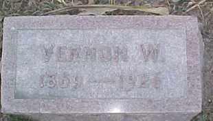 MCDONALD, VERNON W. - Dixon County, Nebraska | VERNON W. MCDONALD - Nebraska Gravestone Photos