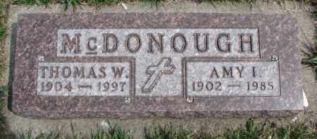 MCDONOUGH, AMY I. - Dixon County, Nebraska | AMY I. MCDONOUGH - Nebraska Gravestone Photos