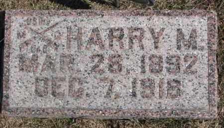 MCENTAFFER, HARRY M. - Dixon County, Nebraska   HARRY M. MCENTAFFER - Nebraska Gravestone Photos