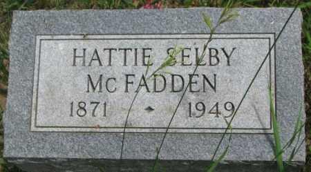 SELBY MCFADDEN, HATTIE - Dixon County, Nebraska   HATTIE SELBY MCFADDEN - Nebraska Gravestone Photos