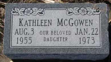 MCGOWEN, KATHLEEN - Dixon County, Nebraska | KATHLEEN MCGOWEN - Nebraska Gravestone Photos