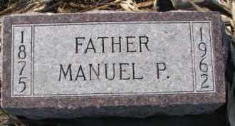 MCGOWEN, MANUEL P. - Dixon County, Nebraska | MANUEL P. MCGOWEN - Nebraska Gravestone Photos
