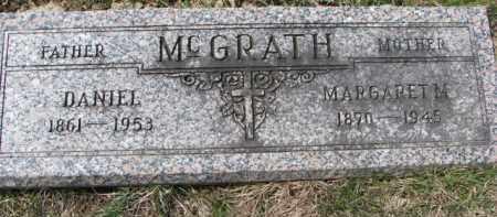 MCGRATH, DANIEL - Dixon County, Nebraska | DANIEL MCGRATH - Nebraska Gravestone Photos