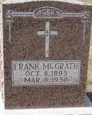 MCGRATH, FRANK - Dixon County, Nebraska | FRANK MCGRATH - Nebraska Gravestone Photos