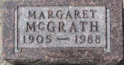 MCGRATH, MARGARET - Dixon County, Nebraska | MARGARET MCGRATH - Nebraska Gravestone Photos