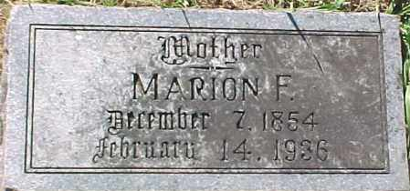 MCGUIRE, MARION F. - Dixon County, Nebraska | MARION F. MCGUIRE - Nebraska Gravestone Photos