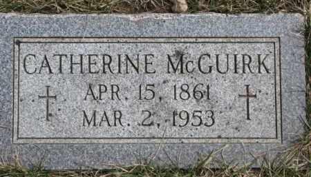 MCGUIRK, CATHERINE - Dixon County, Nebraska | CATHERINE MCGUIRK - Nebraska Gravestone Photos