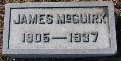 MCGUIRK, JAMES - Dixon County, Nebraska   JAMES MCGUIRK - Nebraska Gravestone Photos