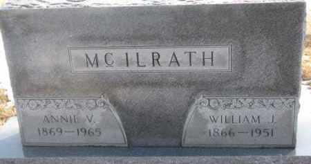 MCILRATH, ANNIE W. - Dixon County, Nebraska | ANNIE W. MCILRATH - Nebraska Gravestone Photos