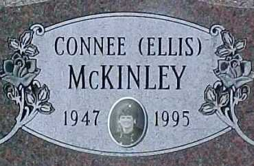 ELLIS MCKINLEY, CONNEE - Dixon County, Nebraska | CONNEE ELLIS MCKINLEY - Nebraska Gravestone Photos