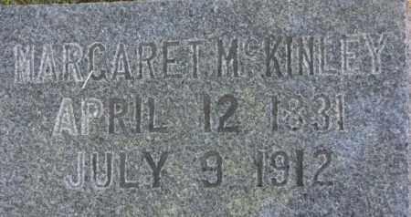 MCKINLEY, MARGARET - Dixon County, Nebraska | MARGARET MCKINLEY - Nebraska Gravestone Photos