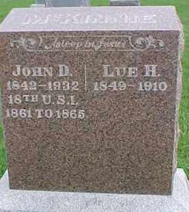 MCKINNIE, JOHN D. - Dixon County, Nebraska   JOHN D. MCKINNIE - Nebraska Gravestone Photos