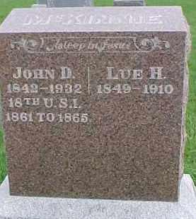 MCKINNIE, LUE H. - Dixon County, Nebraska   LUE H. MCKINNIE - Nebraska Gravestone Photos