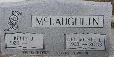 MCLAUGHLIN, DELLMONTE L. - Dixon County, Nebraska | DELLMONTE L. MCLAUGHLIN - Nebraska Gravestone Photos