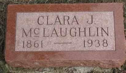 MCLAUGHLIN, CLARA J. - Dixon County, Nebraska   CLARA J. MCLAUGHLIN - Nebraska Gravestone Photos