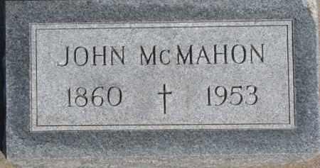 MCMAHON, JOHN - Dixon County, Nebraska   JOHN MCMAHON - Nebraska Gravestone Photos