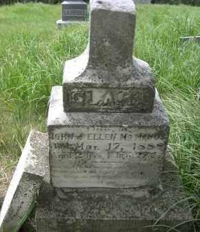 MCMANUS, CLARA - Dixon County, Nebraska | CLARA MCMANUS - Nebraska Gravestone Photos