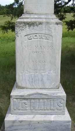 MCMANUS, JOHN - Dixon County, Nebraska | JOHN MCMANUS - Nebraska Gravestone Photos
