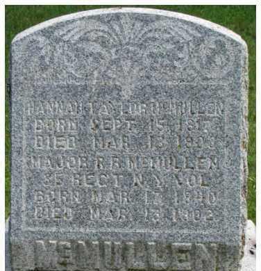 MCMULLEN, HANNAH - Dixon County, Nebraska   HANNAH MCMULLEN - Nebraska Gravestone Photos