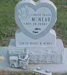 MCNEAR, LANDEN TRAVIS - Dixon County, Nebraska   LANDEN TRAVIS MCNEAR - Nebraska Gravestone Photos