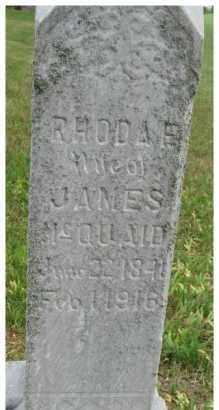 MCQUAID, RHODA L. - Dixon County, Nebraska   RHODA L. MCQUAID - Nebraska Gravestone Photos