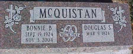 MCQUISTAN, DOUGLAS S. - Dixon County, Nebraska | DOUGLAS S. MCQUISTAN - Nebraska Gravestone Photos