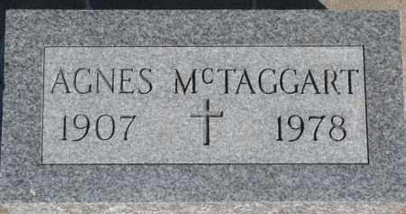MCTAGGART, AGNES - Dixon County, Nebraska | AGNES MCTAGGART - Nebraska Gravestone Photos