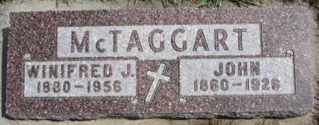 MCTAGGART, JOHN - Dixon County, Nebraska | JOHN MCTAGGART - Nebraska Gravestone Photos