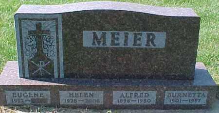 MEIER, ALFRED - Dixon County, Nebraska | ALFRED MEIER - Nebraska Gravestone Photos