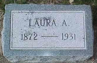 MERRITT, LAURA A. - Dixon County, Nebraska | LAURA A. MERRITT - Nebraska Gravestone Photos