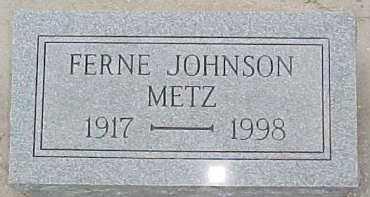 METZ, FERNE - Dixon County, Nebraska   FERNE METZ - Nebraska Gravestone Photos