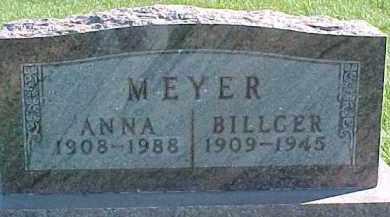 MEYER, BILLGER - Dixon County, Nebraska | BILLGER MEYER - Nebraska Gravestone Photos