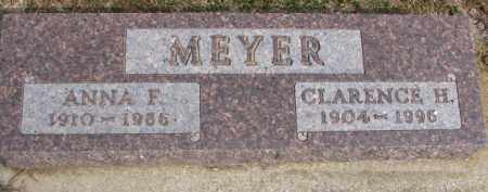 MEYER, CLARENCE H. - Dixon County, Nebraska | CLARENCE H. MEYER - Nebraska Gravestone Photos