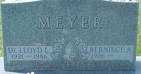 MEYER, DE LLOYD L. - Dixon County, Nebraska | DE LLOYD L. MEYER - Nebraska Gravestone Photos