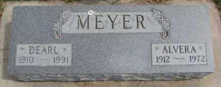 MEYER, DEARL - Dixon County, Nebraska | DEARL MEYER - Nebraska Gravestone Photos