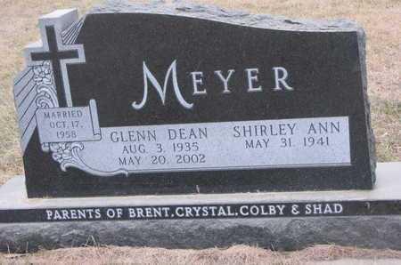 MEYER, SHIRLEY ANN - Dixon County, Nebraska | SHIRLEY ANN MEYER - Nebraska Gravestone Photos