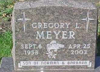 MEYER, GREGORY L. - Dixon County, Nebraska | GREGORY L. MEYER - Nebraska Gravestone Photos