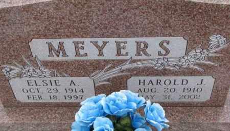 MEYERS, ELSIE A. - Dixon County, Nebraska   ELSIE A. MEYERS - Nebraska Gravestone Photos