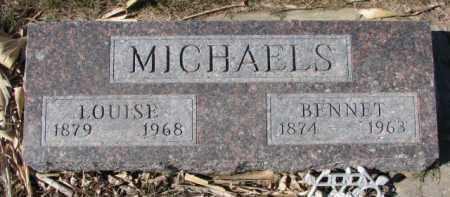 MICHAELS, LOUISE - Dixon County, Nebraska | LOUISE MICHAELS - Nebraska Gravestone Photos